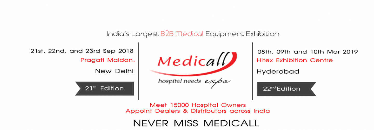 Medicall Exhibition and Medical Fair India