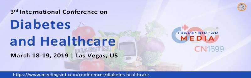 Diabetes and Healthcare 2019 | CN1699